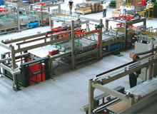 Modle PTM Pushing-Type Glass Container Palletizing Machine